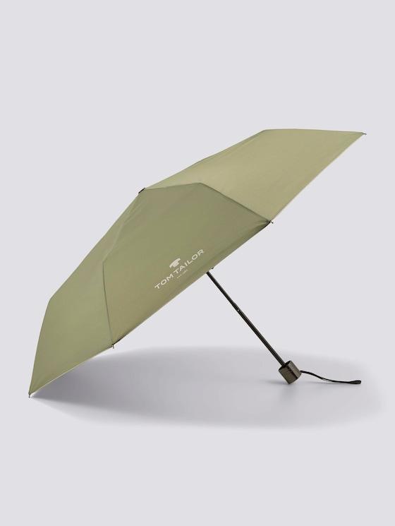 paraplu - uniseks - oil green - 7 - TOM TAILOR
