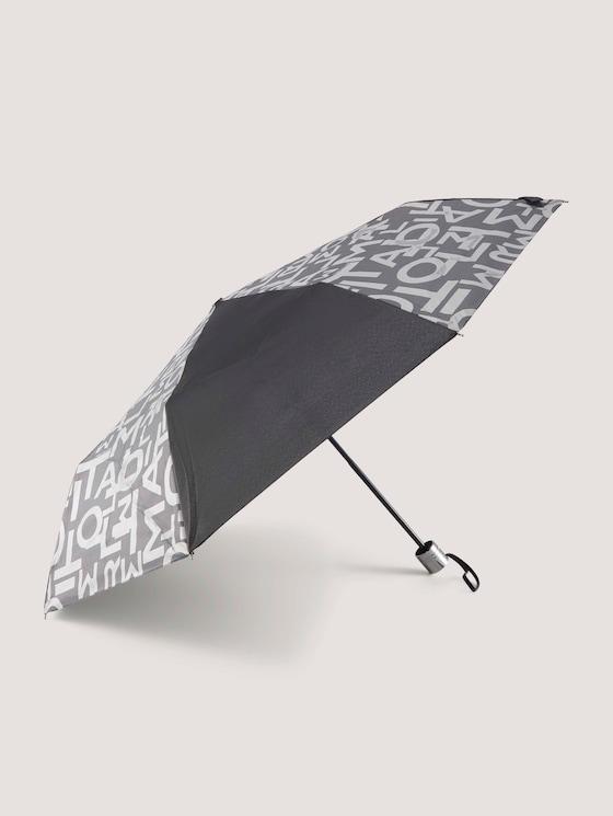 Extra Kleiner Regenschirm - unisex - black - 7 - TOM TAILOR