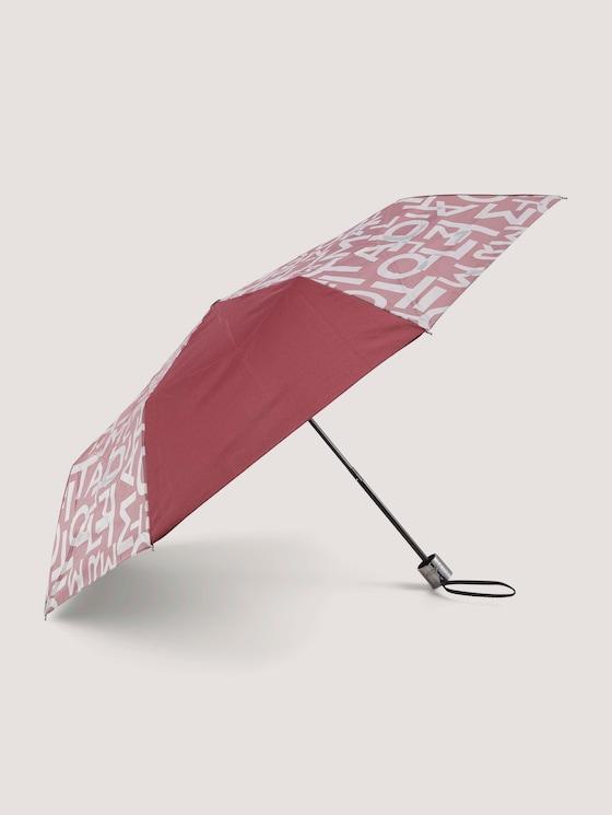 Extra Kleiner Regenschirm - unisex - zinfandel red - 7 - TOM TAILOR