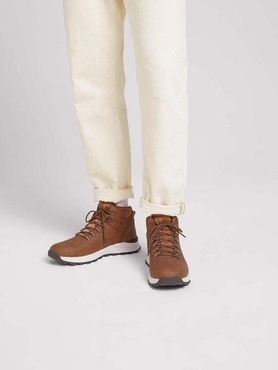 Lace-up boots - Men - cognac - 5 - TOM TAILOR