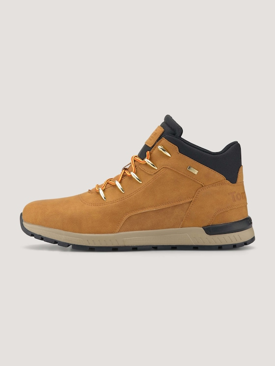 Lace-up boots - Men - camel - 7 - TOM TAILOR
