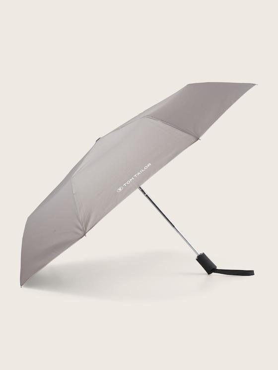 Kleiner Automatik Regenschirm - unisex - anthra - 7 - TOM TAILOR