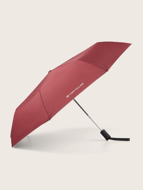 Automatic umbrella - unisex - zinfandel red - 7 - TOM TAILOR