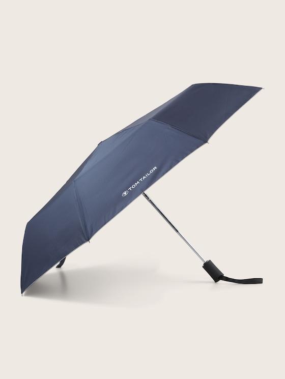 Kleiner Automatik Regenschirm - unisex - dark blue - 7 - TOM TAILOR