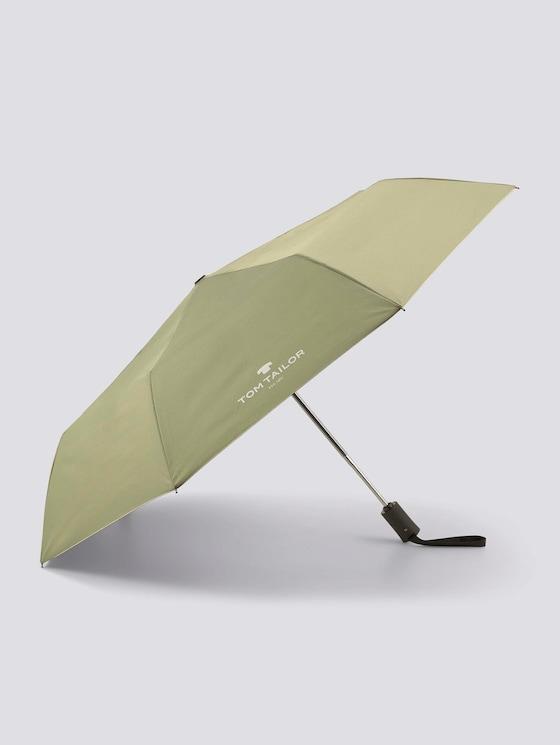 Extra kleine paraplu - uniseks - oil green - 7 - TOM TAILOR
