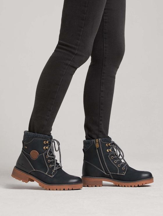 Lined boot - Women - black - 5 - TOM TAILOR