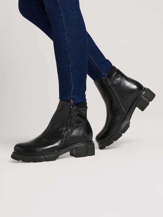 Lined boot - Women - black - 5 - TOM TAILOR Denim