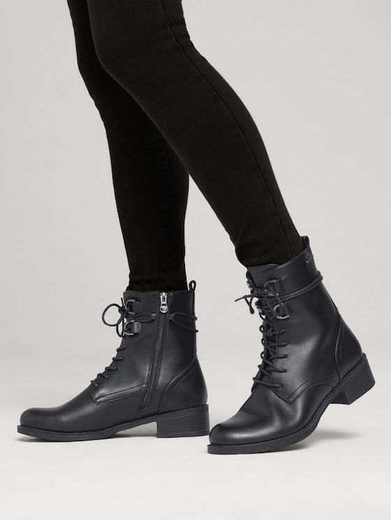 Boot with laces - Women - black - 5 - TOM TAILOR Denim