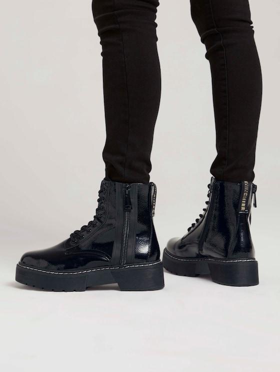 Shiny boots - Women - black - 5 - TOM TAILOR Denim