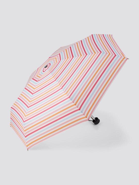 Mini Regenschirm mit Muster - unisex - stripes - 7 - TOM TAILOR