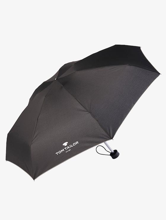 Umbrella - unisex - black - 1 - TOM TAILOR