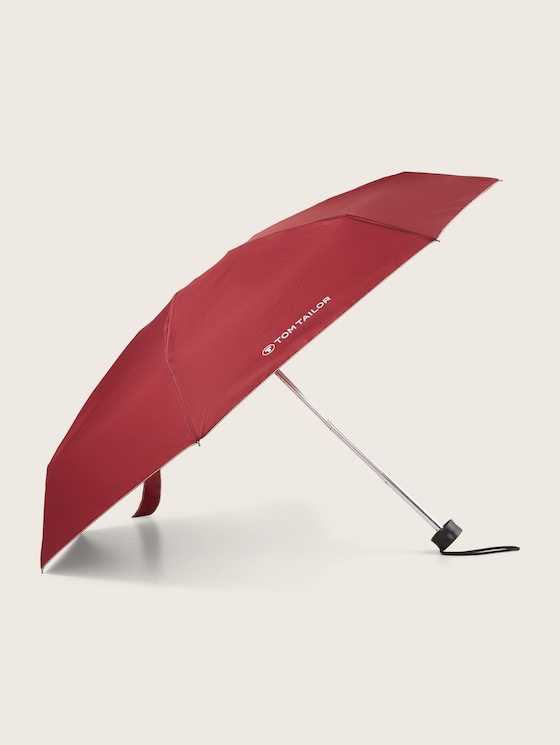 extra small umbrella - unisex - zinfandel red - 7 - TOM TAILOR