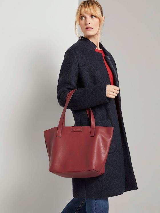 Shopper Miri - Frauen - red - 5 - TOM TAILOR