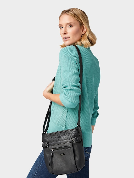 Juna Crossbody Tas - Vrouwen - schwarz / black - 5 - TOM TAILOR