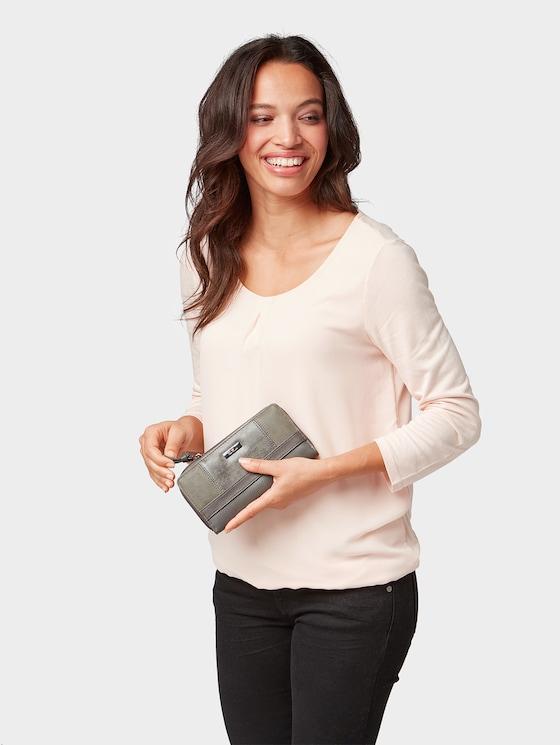 Damenbörse Juna - Frauen - grey - 5 - TOM TAILOR