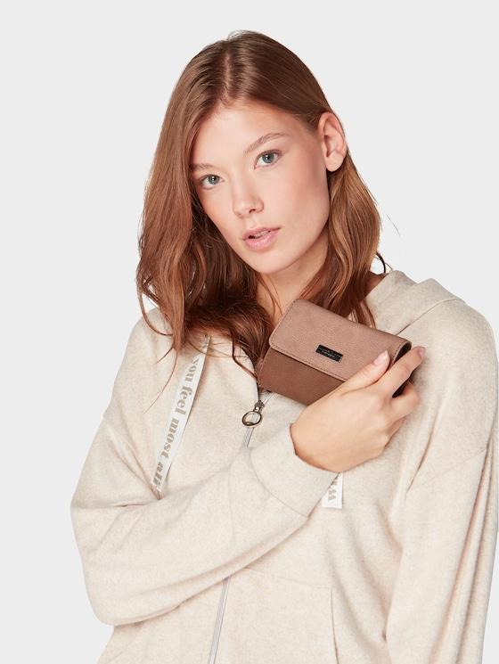 Elin flap-over purse - Women - braun / brown - 5 - TOM TAILOR