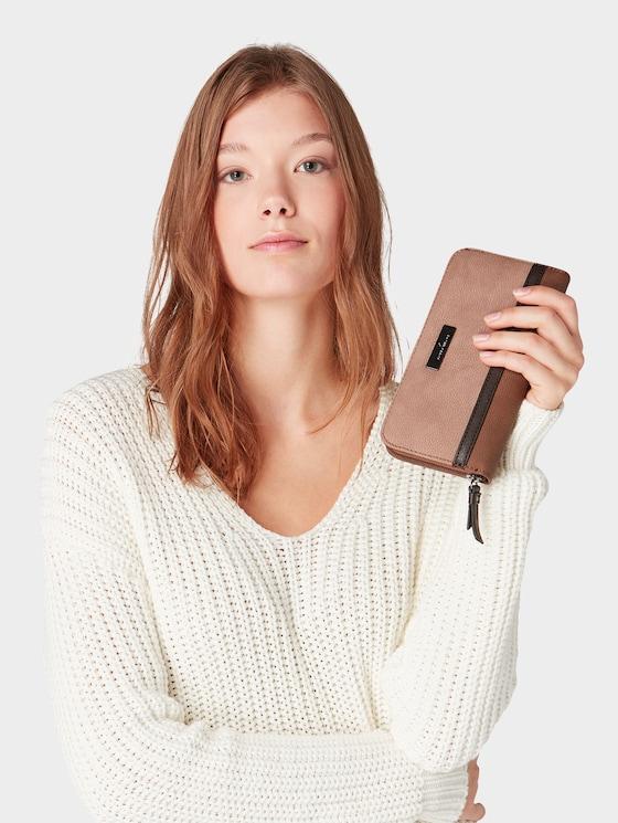 Elin women's purse - Women - braun / brown - 5 - TOM TAILOR