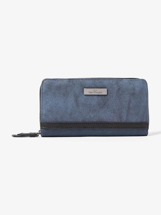 dames portemonnee Elin - Vrouwen - blue - 7 - TOM TAILOR