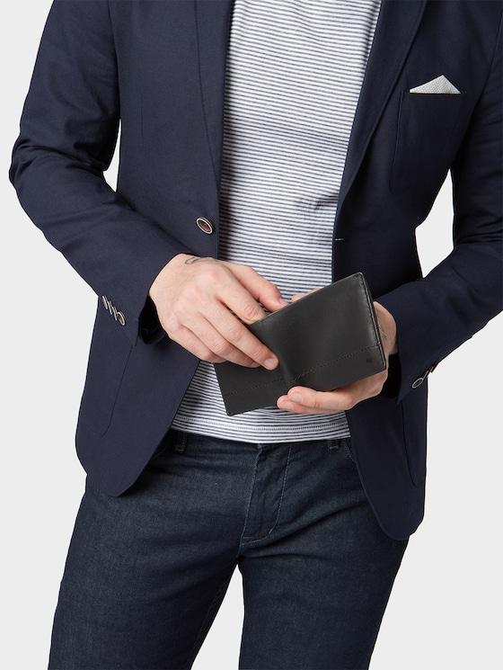 Portemonnaie Kai - Männer - schwarz / black - 5 - TOM TAILOR