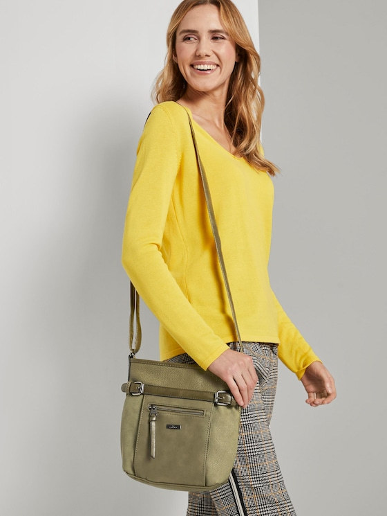 Umhängetasche Juna Flash - Frauen - khaki / khaki - 5 - TOM TAILOR