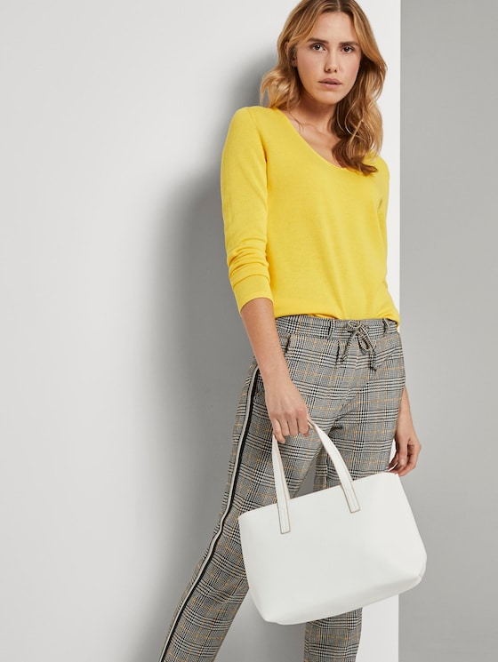 Shopper Marla - Frauen - white - 5 - TOM TAILOR