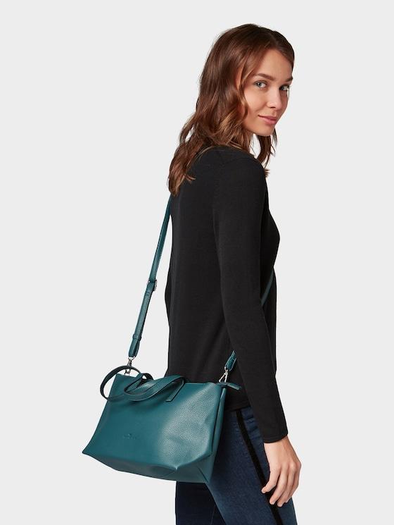 shopper Marla - Vrouwen - petrol - 5 - TOM TAILOR