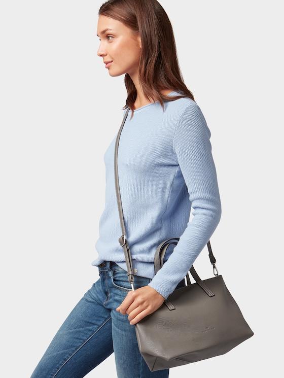 Shopper Marla - Frauen - grey - 5 - TOM TAILOR