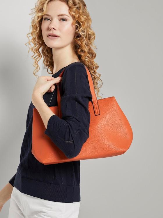 shopper Marla - Vrouwen - orange / orange - 5 - TOM TAILOR