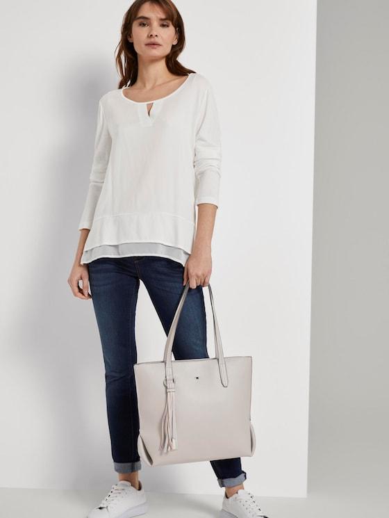 Shopper LUCCA - Frauen - mid grey - 5 - TOM TAILOR
