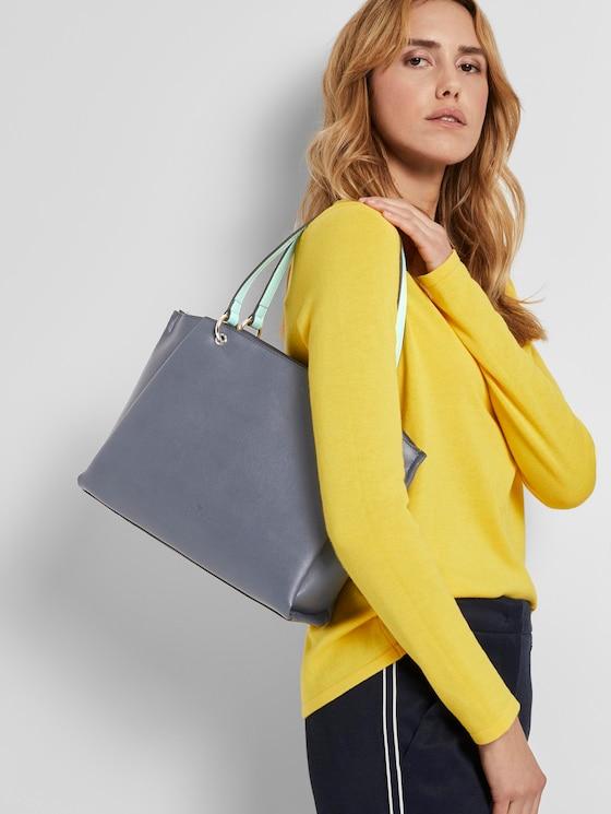 Shopper ALASSIO - Frauen - mid blue - 5 - TOM TAILOR