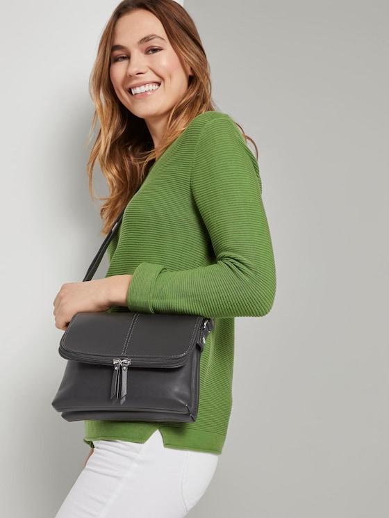 Flap bag RAVENNA - Women - schwarz / black - 5 - TOM TAILOR