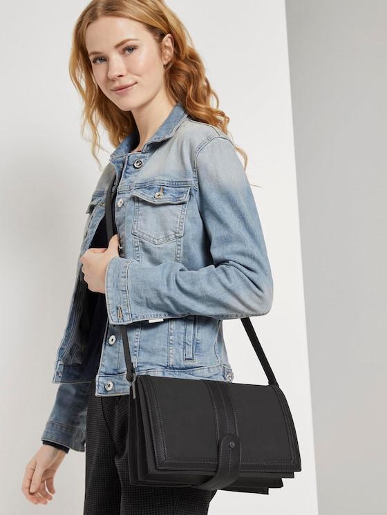 Überschlagtasche IMPERIA - Frauen - schwarz / black - 5 - TOM TAILOR