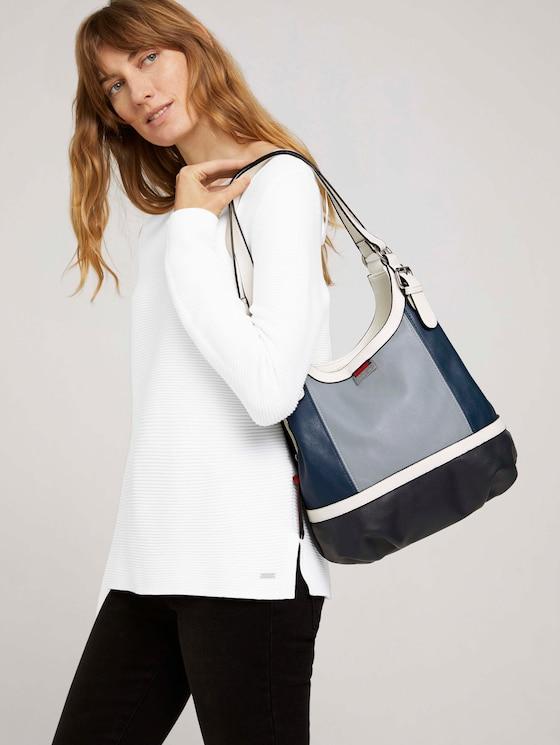 Shopper Juna Flash - Frauen - mixed blue - 5 - TOM TAILOR