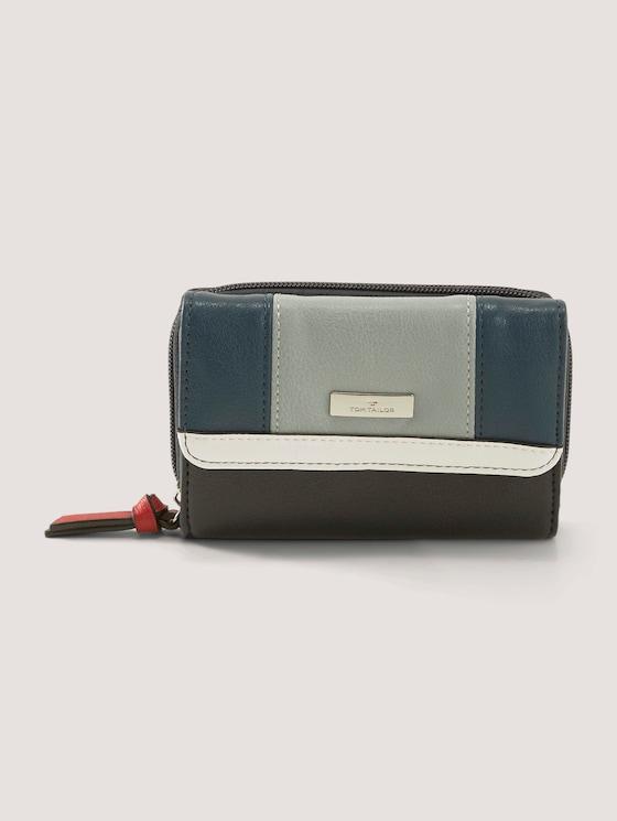 Juna Flash mittleres Portemonnaie - Frauen - mixed blue - 7 - TOM TAILOR