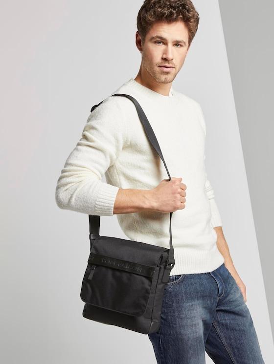 Überschlagtasche Matteo - Männer - schwarz / black - 5 - TOM TAILOR