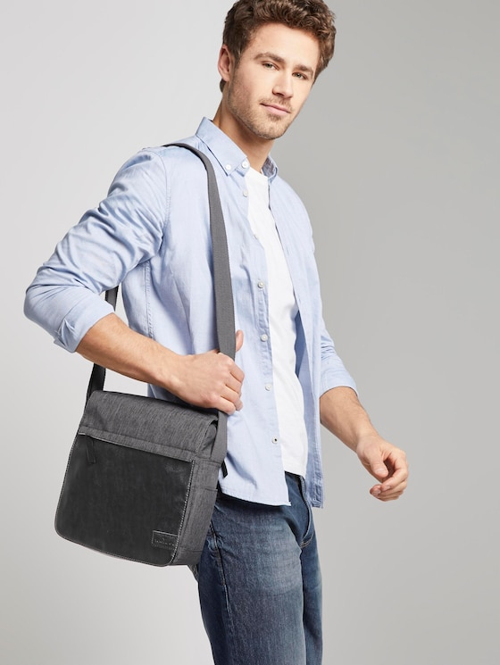 Flap bag Tino - Men - dark grey - 5 - TOM TAILOR