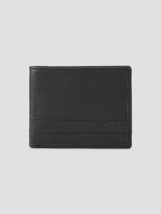 Portemonnaie Terry - Männer - schwarz / black - 7 - TOM TAILOR