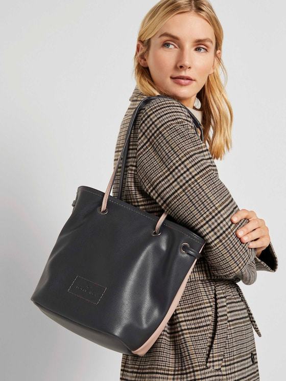 Jess Beuteltasche - Frauen - mixed black - 5 - TOM TAILOR