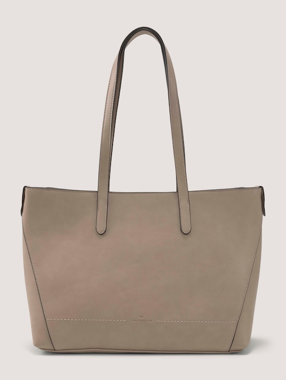 Evy Shopper - Frauen - taupe / taupe - 7 - TOM TAILOR