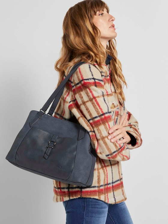 Lone Großer Shopper - Frauen - dark blue - 5 - TOM TAILOR