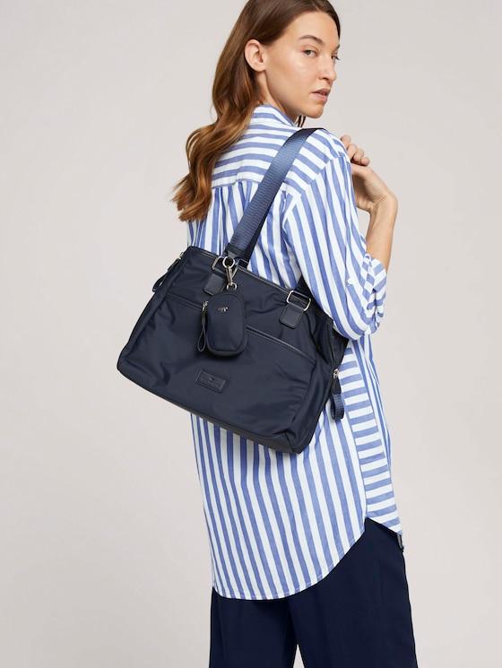 Beatrice Shopper mit Reißverschluss - Frauen - dark blue - 5 - TOM TAILOR