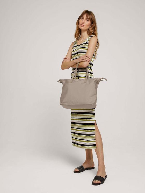 Lara Metallic Shopper - Frauen - beige - 5 - TOM TAILOR