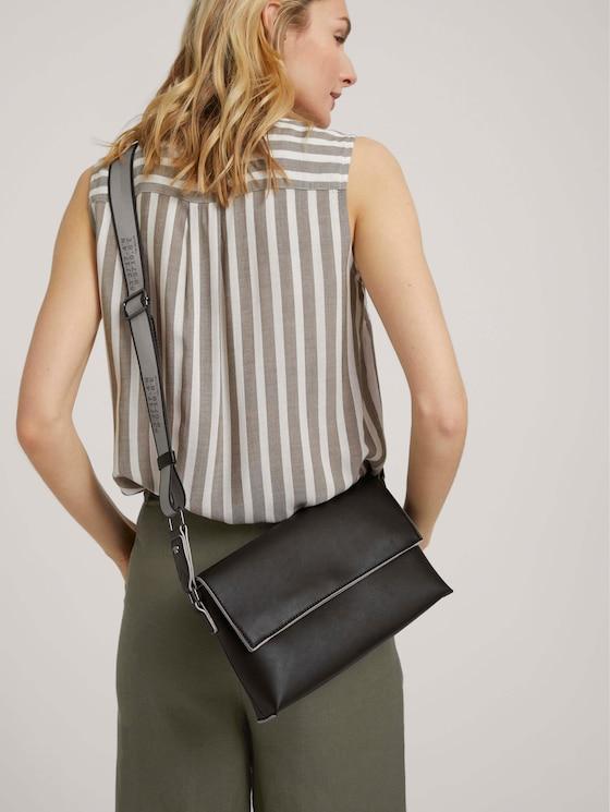 Lisanne Sportliche Überschlagtasche - Frauen - schwarz / black - 5 - TOM TAILOR