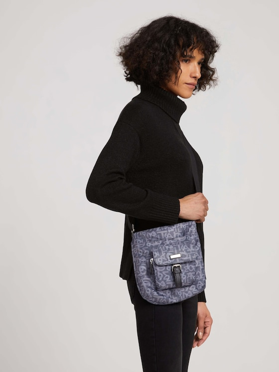 Rina small shoulder bag with a print - Women - printed grey - 5 - TOM TAILOR