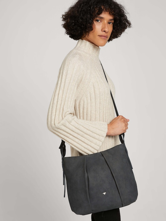 Marisa large shoulder bag - Women - dark grey - 5 - TOM TAILOR