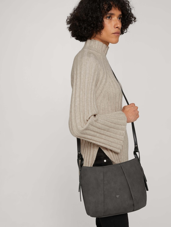 Marisa medium-sized shoulder bag - Women - dark grey - 5 - TOM TAILOR