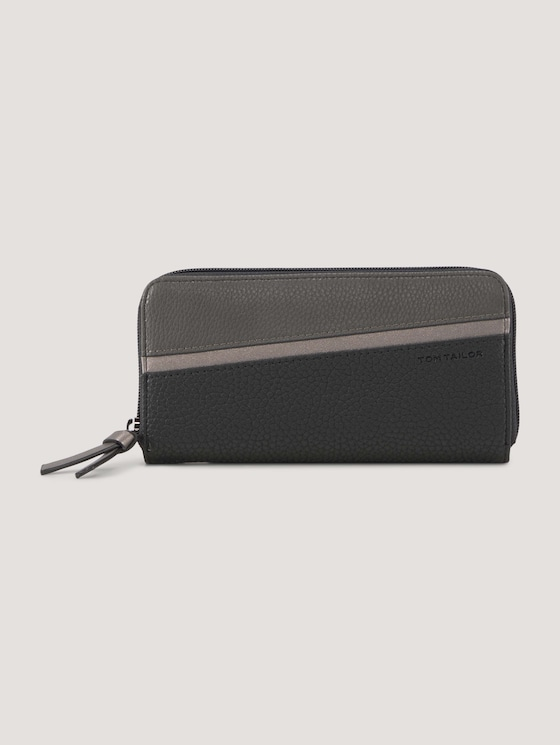 Soraya large wallet - Women - mixed black - 7 - TOM TAILOR
