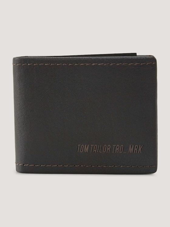 Diego Gelbörse aus Leder - Männer - dark brown - 7 - TOM TAILOR