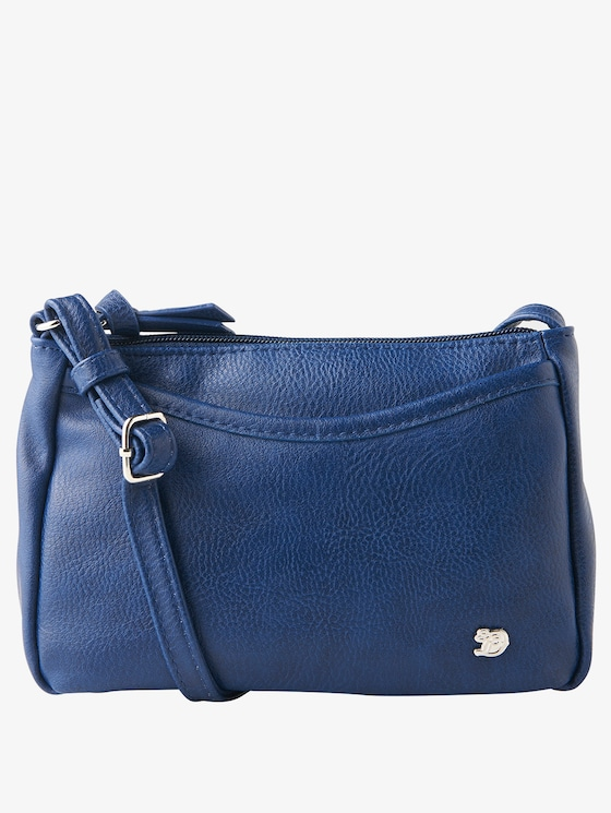 kleine imitatieleren schoudertas - in Tassen