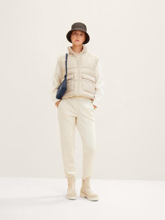 kleine Umhängetasche aus Leder-Imitat - Frauen - blue - 5 - TOM TAILOR Denim